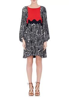 Chloé Women's Floral Gauze Shift Dress