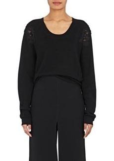 Chloé Women's Lace & Cotton Sweater