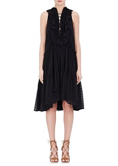 Chloé Women's Lace-Up Cotton Sleeveless Dress