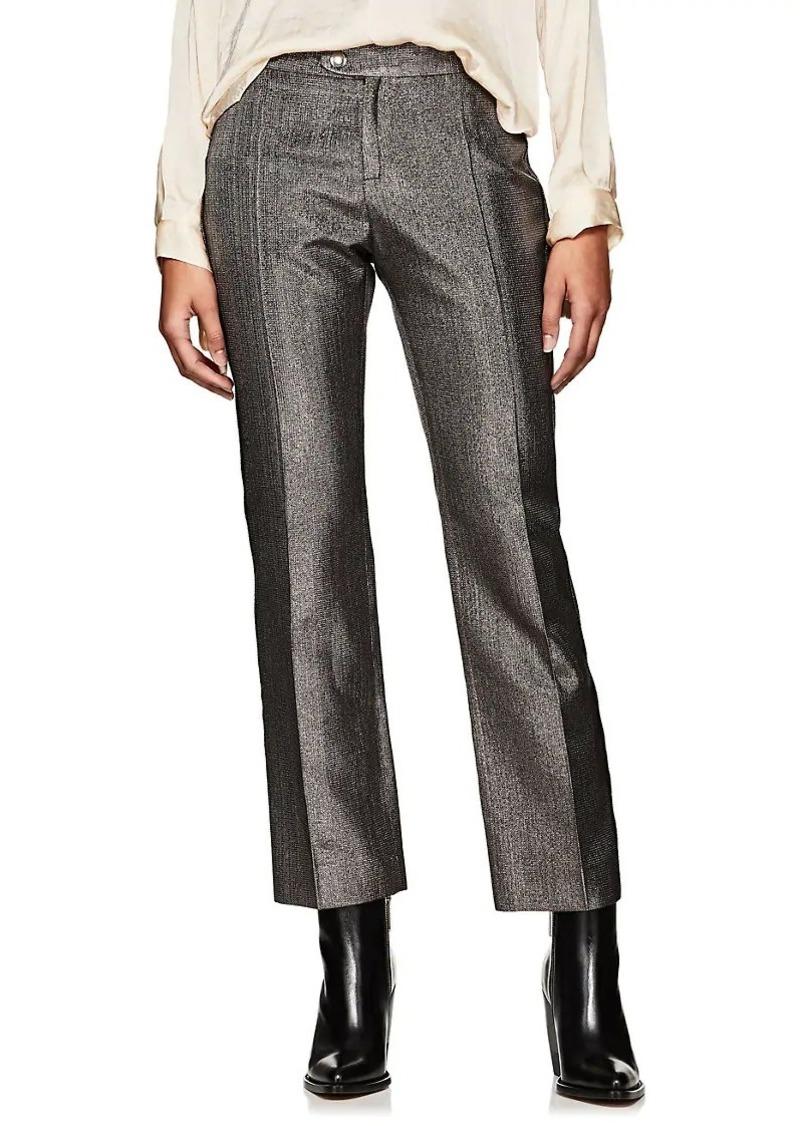 Chloé Women's Lamé Straight Pants
