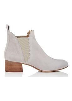 Chloé Women's Lauren Suede Chelsea Boots