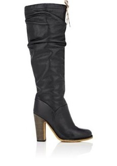 See by Chloe Women's Leather Slouchy Knee Boots