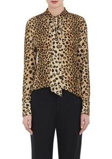 Chloé Women's Leopard-Print Blouse