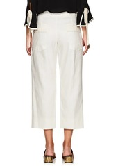 Chloé Women's Linen-Cotton Wide-Leg Pants