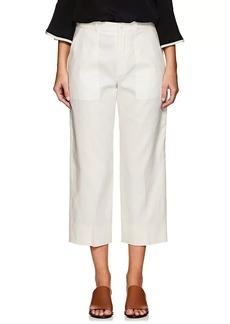 Chloé Women's Linen-Cotton Wide-Leg Pants