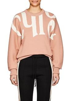 Chloé Women's Logo Cotton-Wool Sweater