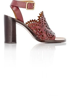 Chloé Women's Lucy Cutout Leather Sandals