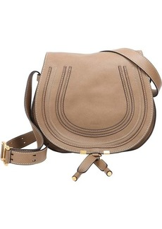 Chloé Women's Marcie Crossbody Saddle Bag - 174 Nut