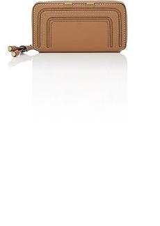 Chloé Women's Marcie Zip-Around Wallet - Lt. brown