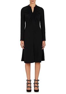 Chloé Women's Maria Smocked-Detail Crepe Dress