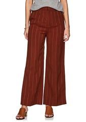 Chloé Women's Metallic-Striped Wide-Leg Trousers