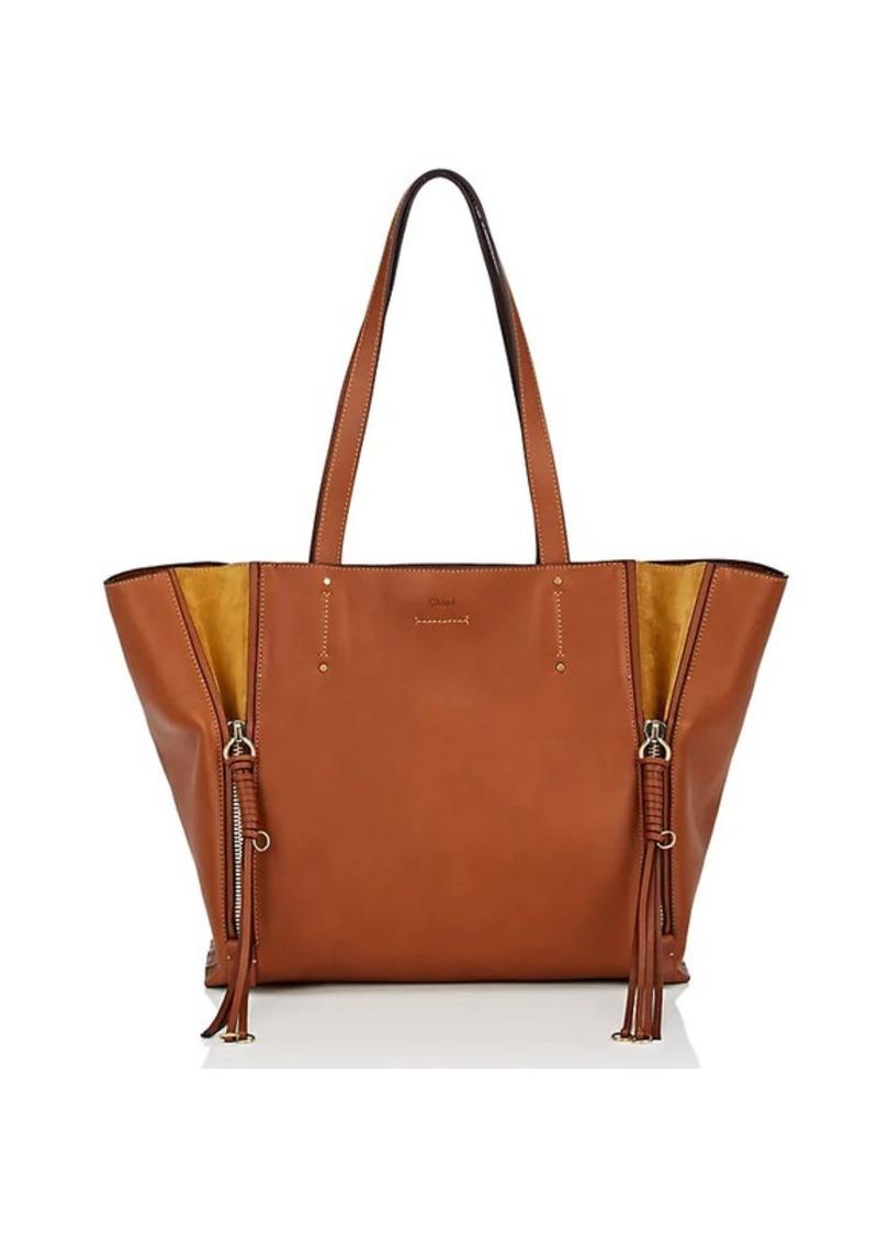 e2c1a8385a Women's Milo Medium Leather Tote Bag - Brown