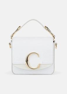 Chloé Women's Mini Leather Satchel - White