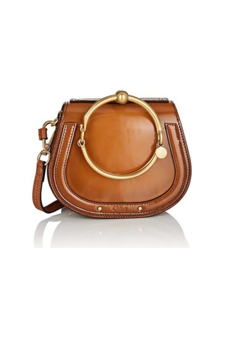 Chloé Chloé Women s Nile Small Leather Crossbody Bag - Camel  4dd27c1d08019