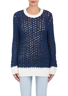 Chloé Women's Open-Knit Chenille Sweater