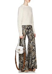 Chloé Women's Paisley Silk-Blend Flared Pants