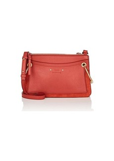 Chloé Women's Roy Leather & Suede Shoulder Bag - Red
