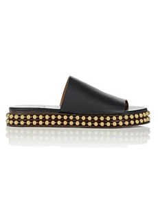 Chloé Women's Sawyer Leather Slide Sandals