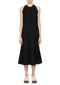 Chloé Women's Scalloped Cady A-Line Dress