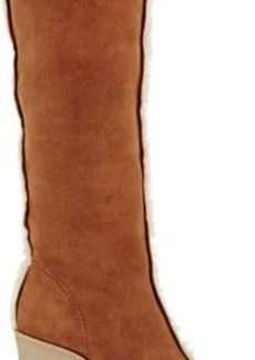 Chloé Women's Shearling-Lined Wedge Boots