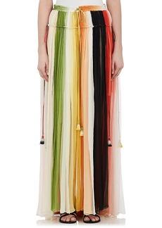 Chloé Women's Silk Chiffon Maxi Skirt