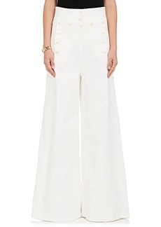 Chloé Women's Stretch-Cotton Denim Sailor Pants