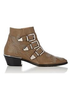 Chloé Women's Susanna Leather Ankle Boots