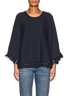 Chloé Women's Tassel-Trimmed Cotton-Wool Sweater