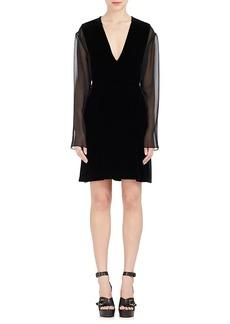 Chloé Women's Velvet Shift Dress