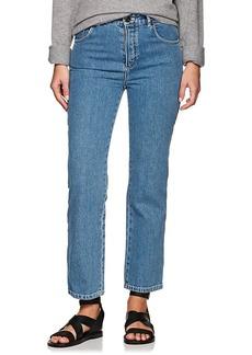 Chloé Women's Wavy-Seam Straight Jeans