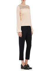 Chloé Women's Wool Ankle-Length Pants