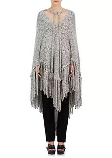 Chloé Women's Wool-Blend Oversized Cape