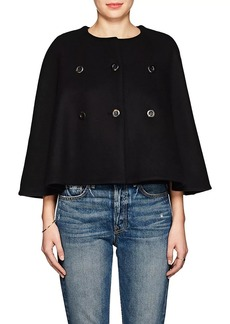 Chloé Women's Wool-Cashmere Double-Breasted Cape