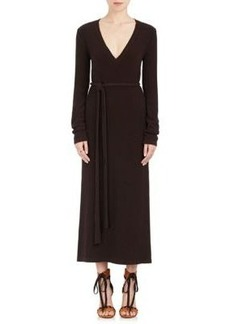 Chloé Women's Wool-Cashmere Sweater Maxi Dress