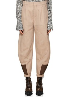 Chloé Women's Wool-Cotton Gabardine Riding Pants