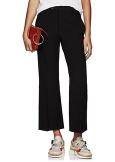 Chloé Women's Wool Flared Ankle Trousers