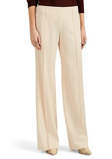 Chloé Women's Wool Twill Wide-Leg Trousers