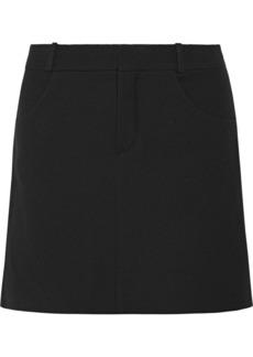 Chloé Wool-blend Twill Mini Skirt