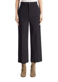 Chloé Wool Cropped Pants