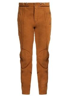 Chloé Zip-hem skinny-leg jeans