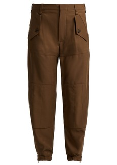 Chloé Zipped-ankle trousers