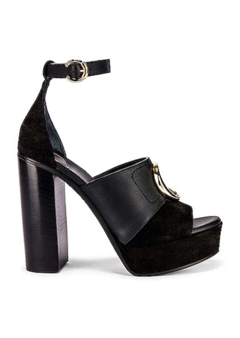 Chloé Chloe C Ankle Strap Platforms