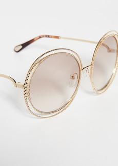 Chloé Chloe Carlina Spherical Sunglasses