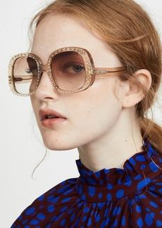 Chloé Chloe Chiara Crystal Sunglasses