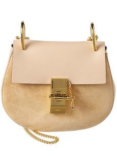 Chloé Chloe Drew Mini Leather & Suede Shoulder Bag