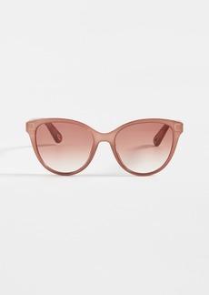 Chloé Chloe Elize Acetate Cat Eye Sunglasses