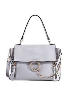 Chloé Chloe Faye Day Mixed Flap Medium Shoulder Bag