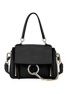 Chloé Chloe Faye Daye Mini Leather/Suede Shoulder Bag
