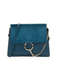 Chloé Chloe Faye Medium Leather & Suede Shoulder Bag