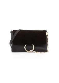 Chloé Chloe Faye Small Suede/Leather Shoulder Bag